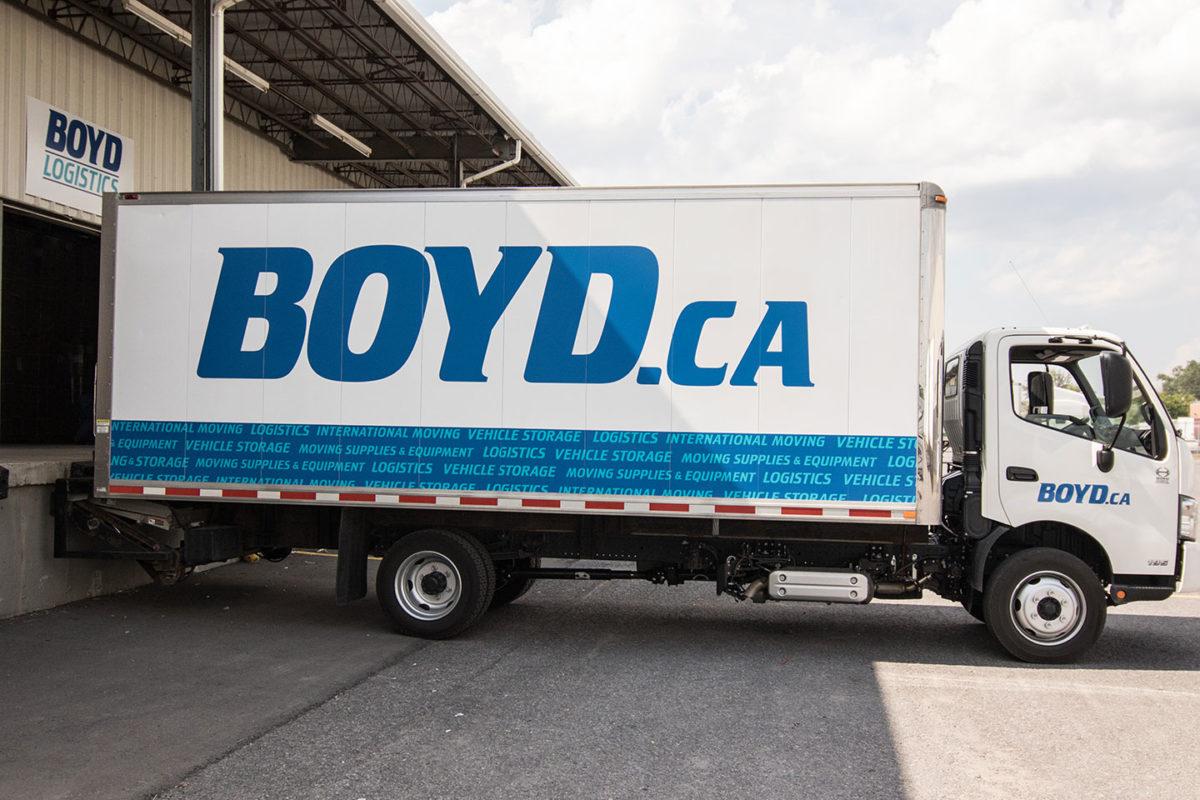 Boyd Moving truck